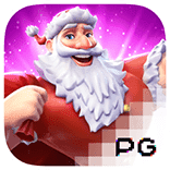 pg slot Santa's Gift Rush logo game