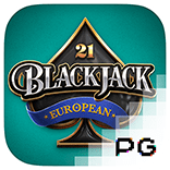 pg slot european blackjack logo game