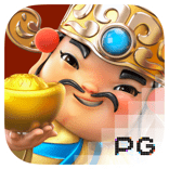 pg slot fortune gods logo game
