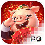 pg slot piggy gole logo game