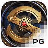 pg slot steampunk logo game