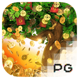 pg slot tree of fortune logo game