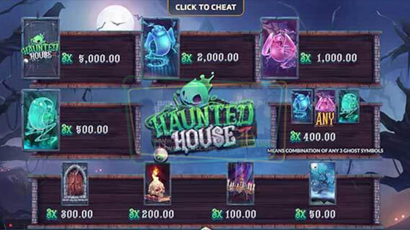 Payrate Hauted House PG SLOT